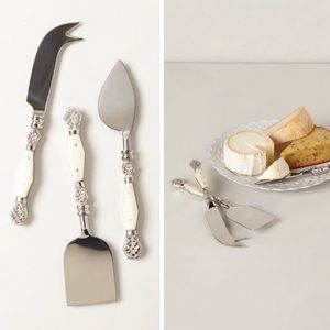 Resplendent Cheese King Set NWT Anthropologie